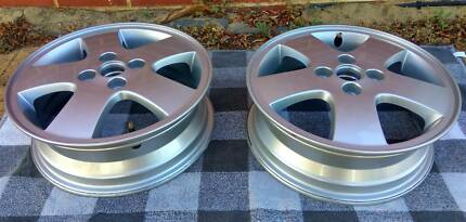 "NEW 2x15"" Genuine Holden Opel Rims, center bore: 56.6 mm, 4x100"