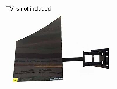 """Professional Smooth Arm Mount for LG OLED TV 55EF9500, 65EF9500 with 31.5"""" ext."""