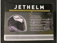 Jethelm open face motorcycle helmet adult large 59-60cm