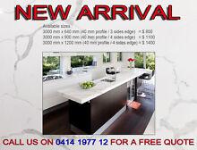 Brand New Kitchen Stone Bench top Calacatta Look in 40 mm profile Melbourne CBD Melbourne City Preview