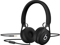 Beats by Dre on ear EP headphones Black As new with box and bag
