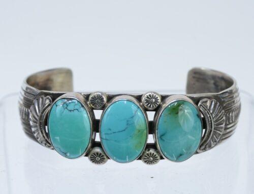 Navajo bracelet - Estate Jewelry  - fine natural turquoise