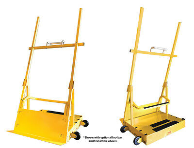 Saw Trax Scoop Dolly Material Handling Hand Truck Cart Moving Carry Utillity