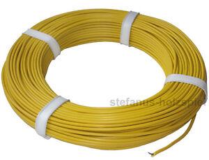 40m litze 1 adrig 0 34 m gelb braun rot modellbahn kabel 0 5mm 1x16x0 2 ebay. Black Bedroom Furniture Sets. Home Design Ideas