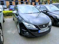 2010 Seat Ibiza FR 2.0 CR Sports Coupe 3dr Black - FSH, 1 owner, 2 keys, all books, *Cambelt DONE*