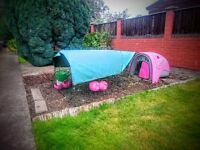 The Classic Eglu hen house (pink) with extras!