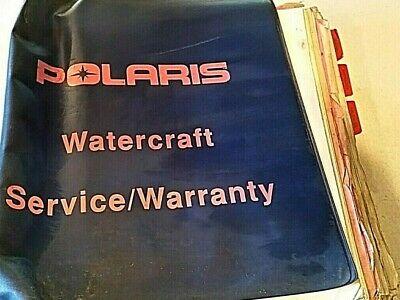 Polaris Dealer Watercraft 2001 Service Shop Manual