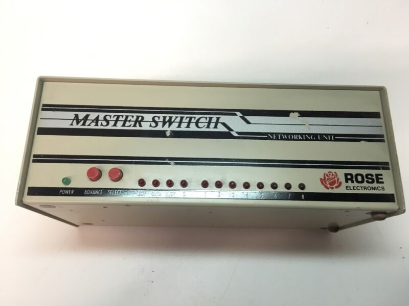 ROSE ELECTRONICS MASTER SWITCH NETWORKING UNIT MS-4S5P