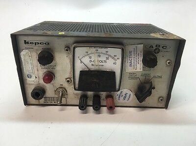 Kepco Power Supply Abc 30-0.3