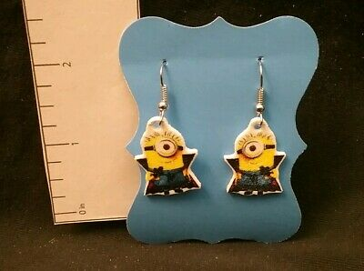 Minions Earrings Despicable Me Inspired Minion as Vampire Dracula Halloween](Halloween Minions)