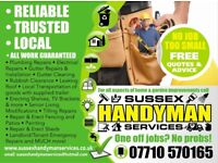 Sussex Handyman Services - Plumbing/Electrical/General Repairs - We Cover it