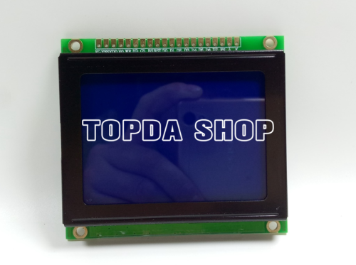 1pc LCD Display replace POWERTIP PG-12864F as pic showed
