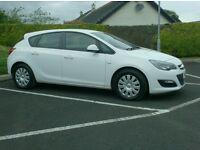 2013 Vauxhall Astra 1.7Cdti Ecoflex, Free Tax, One Owner.