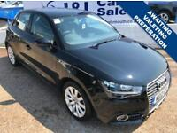 AUDI A1 1.6 SPORTBACK TDI SPORT 5d 103 BHP A GREAT EXAMPLE INSIDE AND OUT (black) 2012
