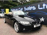 BMW 3 SERIES 330D M SPORT CONVERTIBLE (black) 2012