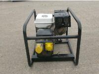 5.0 KVA HONDA PETROL GENERATOR 110v ONLY (FUSION WELDER)