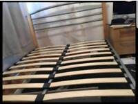 Nice double Bed frame (delivery available(
