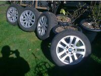Alloy Wheels x 4 16 inch