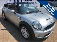 MINI CONVERTIBLE 1.6 COOPER S 2d 175 BHP A GREAT EXAMPLE INSIDE AND OUT (silver) 2009