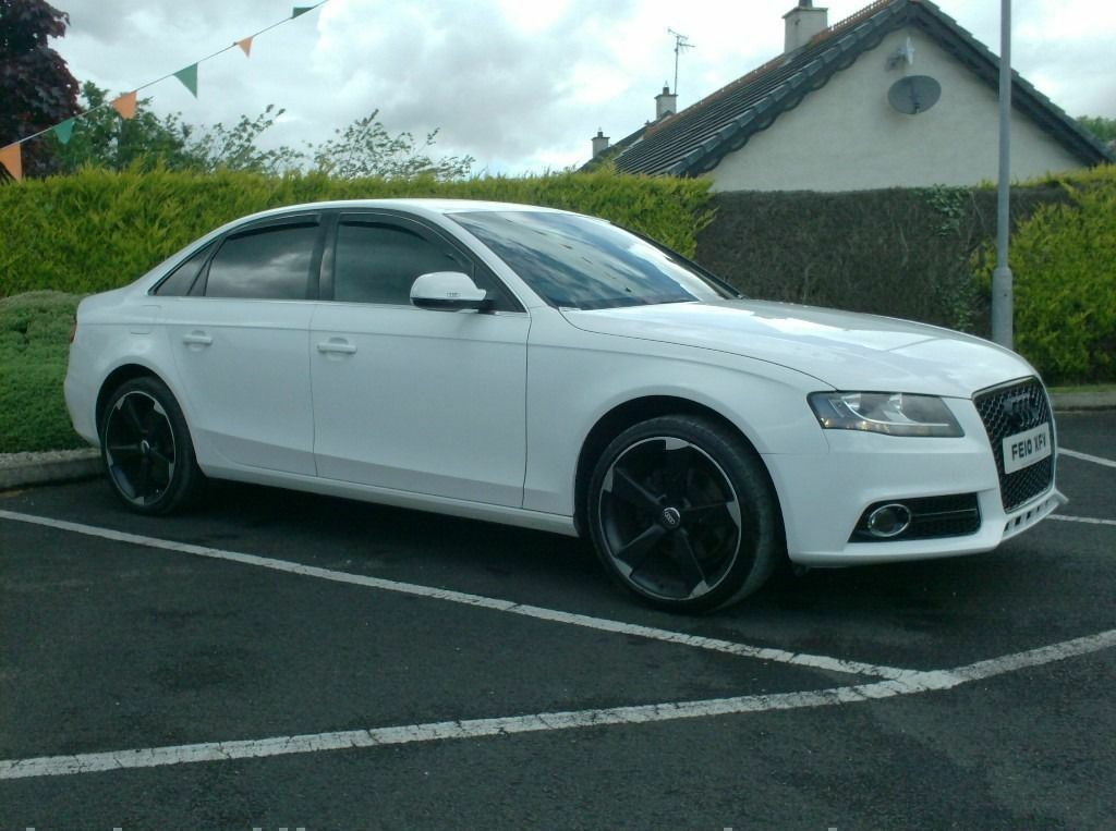 2010 Audi A4 2 0tdi In White Black Edition Styling Leather In