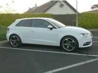 2012 Audi A3 Tdi, New Model 3 Door In white, Free Tax.