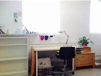 Desk Space in Creative Studio, at Wimbledon Art Studios. Tooting / Earlsfield