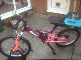Kids Raleigh mission extreme bike