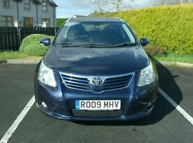 09 Toyota Avensis 2.0D4D Tr , Estate, Just in from the Uk