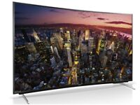 Ultra Slim Panasonic 55 inch Ultra HD 4K LED 3D Smart TV with Freeview HD, Wifi + Apps not 46 50 60