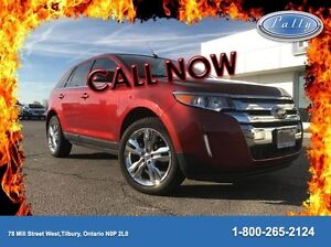 2014 Ford Edge Limited, Leather, Navigation, Moonroof !!