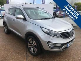 KIA SPORTAGE 1.7 CRDI 3 5d 114 BHP A GREAT EXAMPLE INSIDE AND OUT (silver) 2012