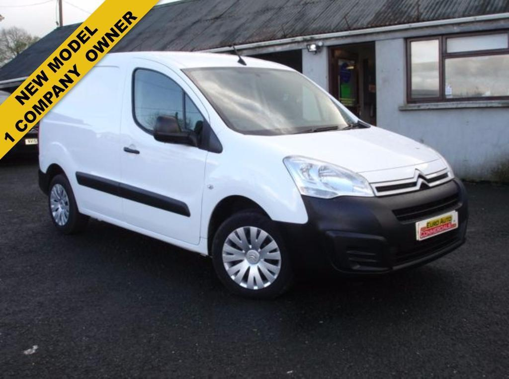0f149daab9 CITROEN BERLINGO 1.6 625 ENTERPRISE L1 HDI 1d 75 BHP (white) 2015