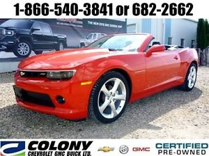 2015 Chevrolet Camaro Convertible 2LT, Leather, Remote Start