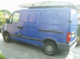 renault master panel van year 2003