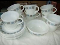 Chelsea cups and saucers