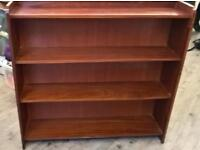 Bookcase bookshelves solid wood
