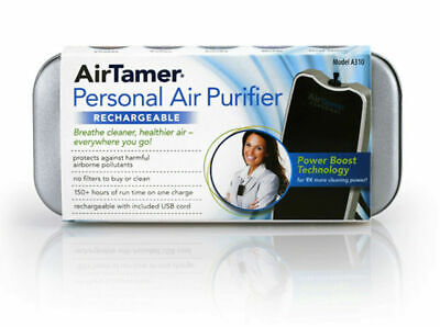 AIRTAMER A310 RECHARGEABLE TRAVEL AIR PURIFIER Air Clean(Random color)