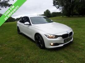 BMW 3 SERIES 2.0 320D EFFICIENTDYNAMICS 4d AUTO 161 BHP (white) 2015