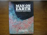 Man on Earth The Marks of Man – A Survey from Space HARDBACK Author:Charles Sheffield
