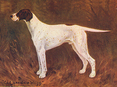 POINTER CHARMING DOG GREETINGS NOTE CARD BEAUTIFUL NAMED DOG
