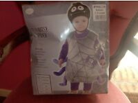 Itsy bitsy spider costume age 2-3 years