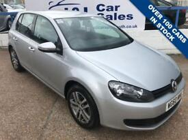 VOLKSWAGEN GOLF 1.4 TWIST 5d 79 BHP A GREAT EXAMPLE INSIDE AND OUT (silver) 2011