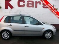 ONLY 58000 MILES 2007 FORD FIESTA 1.2 STYLE SMALL 5 DOOR