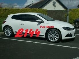2010 Vw Scirocco 2.0Tdi Gt 170bhp, In White...