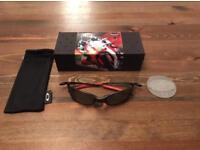 Oakley x metal juliet Ducati Edition sunglasses