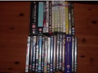 JOB LOT OF DVD'S - 45 IN TOTAL - PLUS LOTS OF FREE PROMOS !
