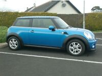 2011 Mini 1.6D Plimco, with Pepper pack, lovely clour, free tax.