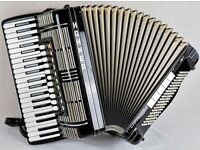 HOHNER MORINO V S - MIDI ACCORDION - 5 VOICE - DOUBLE CASSOTTO - 41 TREBLE / 120 BASS