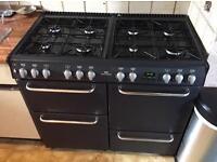 New world range gas cooker
