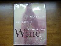 The World Atlas of Wine HARDBACK Author: Hugh Johnson and Jancis Robinson